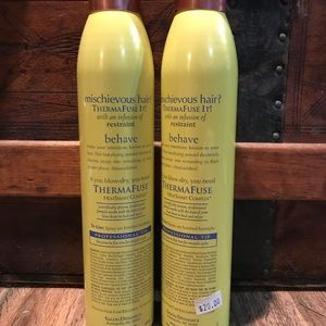 Thermafuse Other - Thermafuse Hairspray 2-pack